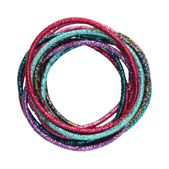 Great Pretenders Shimmer and Shine Elastics 12 Piece Set