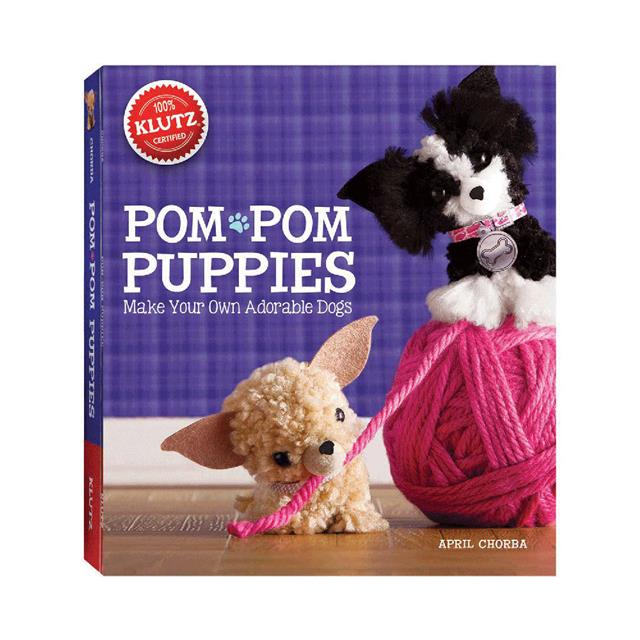 Klutz Pom-Pom Puppies Book