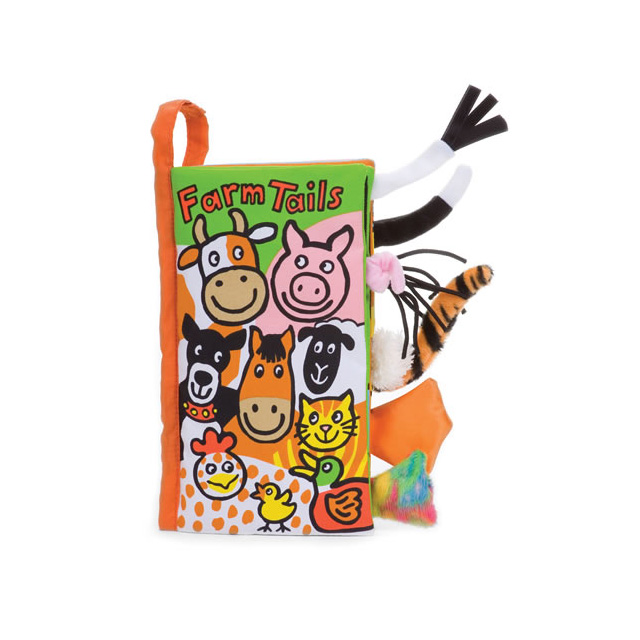 Jellykitten Library Farm Tails Cloth Book