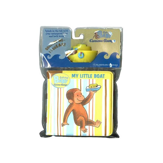 Curious George My Little Boat Bath Book