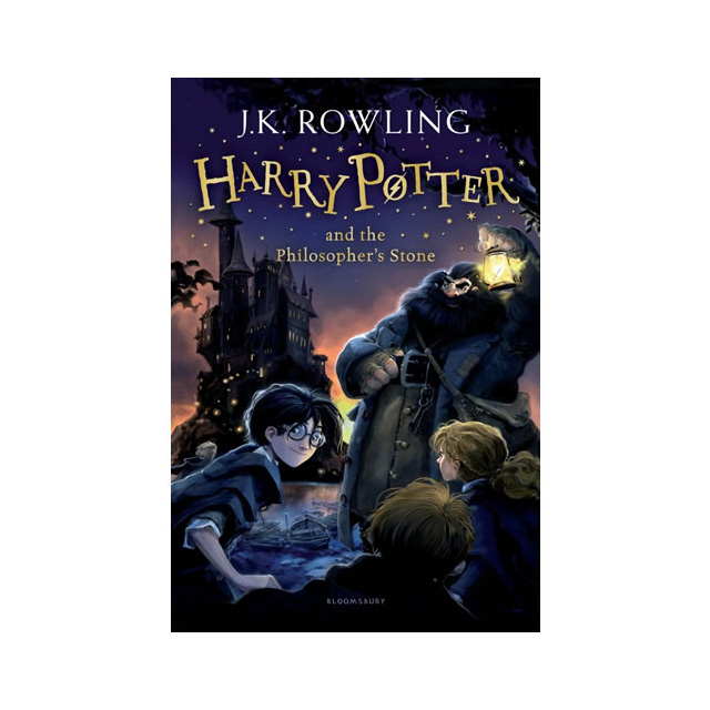 Harry Potter #1 - Harry Potter and the Philosopher's Stone Novel
