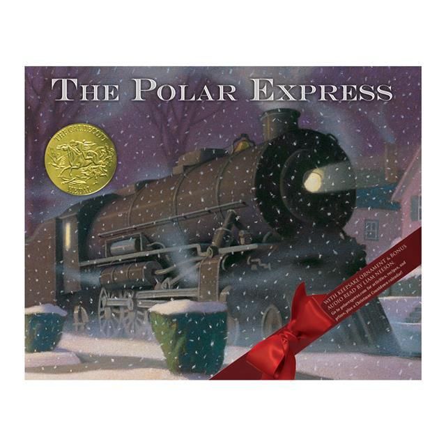 Polar Express Storybook 30th Anniversary Edition with Ornament
