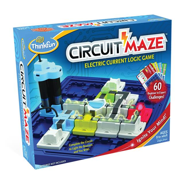 ThinkFun Circuit Maze Light-up Logic Game