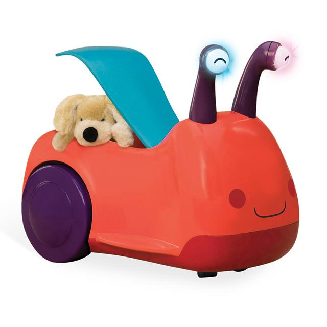 B. Toys Buggly Wuggly Ride-on with Light and Sound
