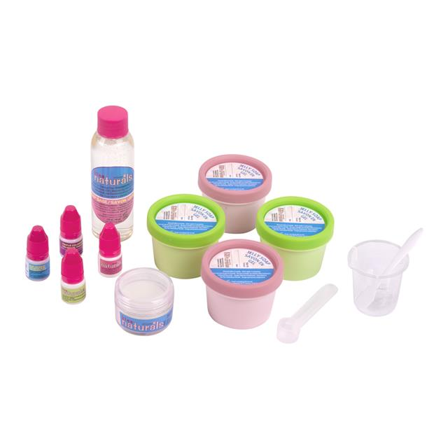 Kiss Naturals Make Your Own Jelly Soap Kit
