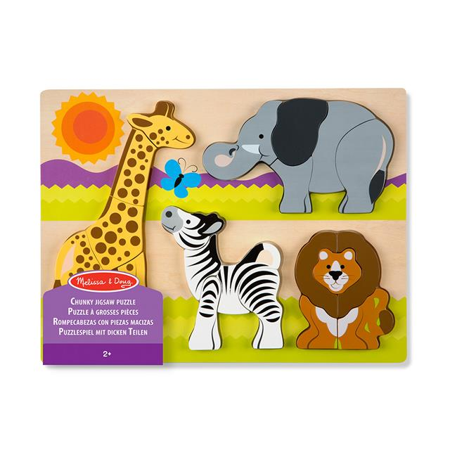Melissa and Doug Chunky Jigsaw Safari