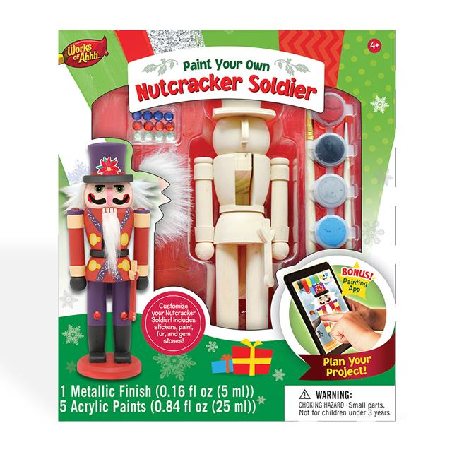 Paint-Your-Own Nutcracker Soldier