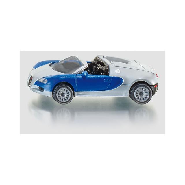 Custom Bugatti Veyron Super Rear View: Siku Bugatti Veyron Grand Sport