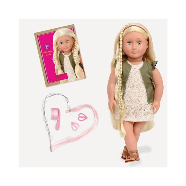 Our Generation Pia 18'' Hair Grow Doll