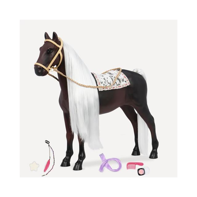 Our Generation Rocky Mountain Hair Play 20'' Horse