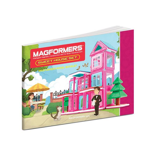 Magformers Sweet House 64 Piece Set