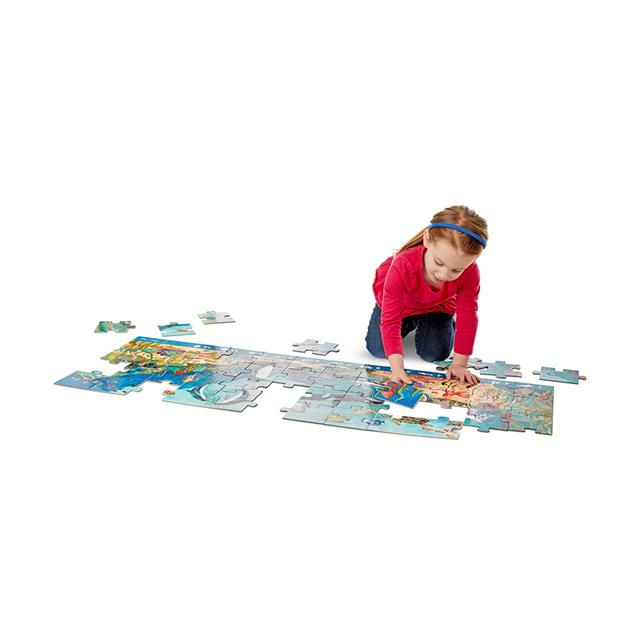 Melissa & Doug Beneath the Waves Search and Find 48 Piece Floor Puzzle