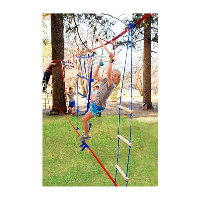 Slackers Ninjaline Intro Kit with 7 Hanging Obstacles