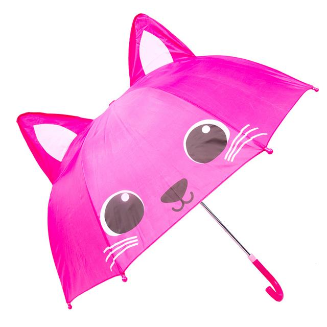 Pink Cat Umbrella 18