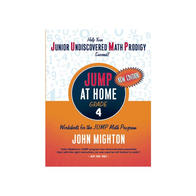 JUMP at Home Math Work Sheets - Grade 4 Workbook
