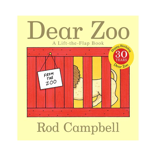 Dear Zoo Lift-the-Flap Book - 30th Anniversary Edition