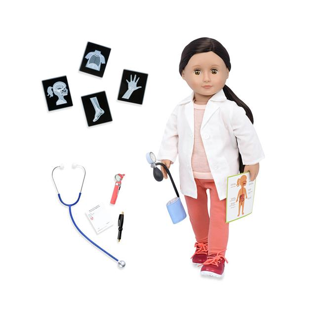 Our Generation Nicola Family Doctor 18'' Professional Doll