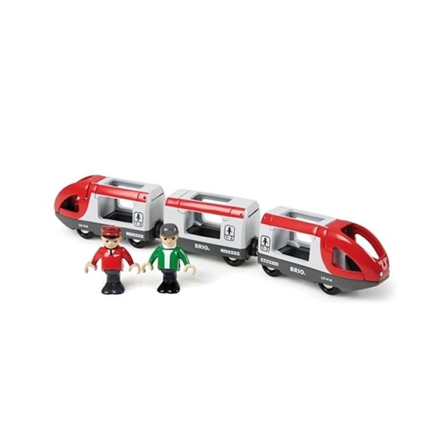 Brio Travel Train with Driver and Passenger