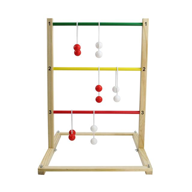 Wooden Ladder Toss Set