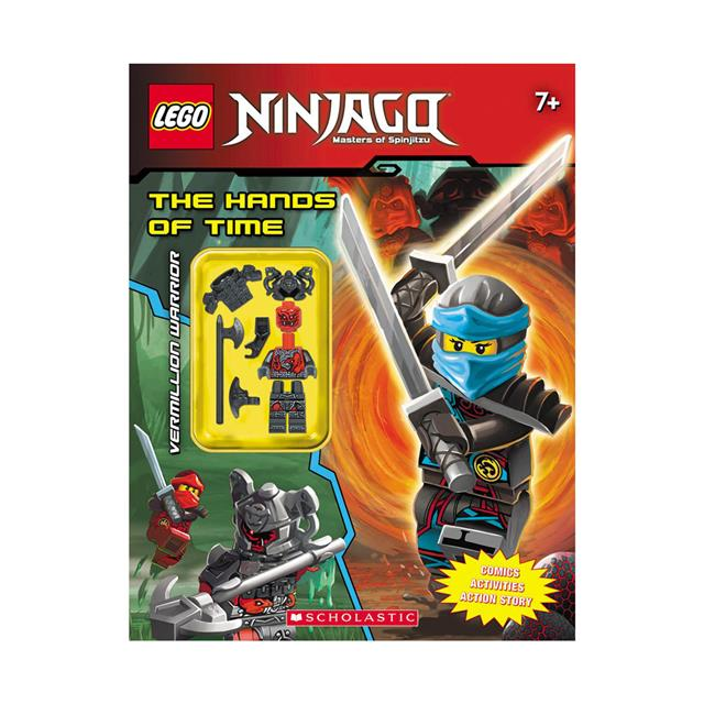 LEGO Ninjago Activity Book w/ Minifigure