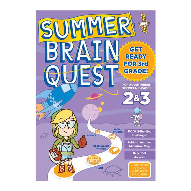 Summer Brain Quest Between Gr 2 & 3