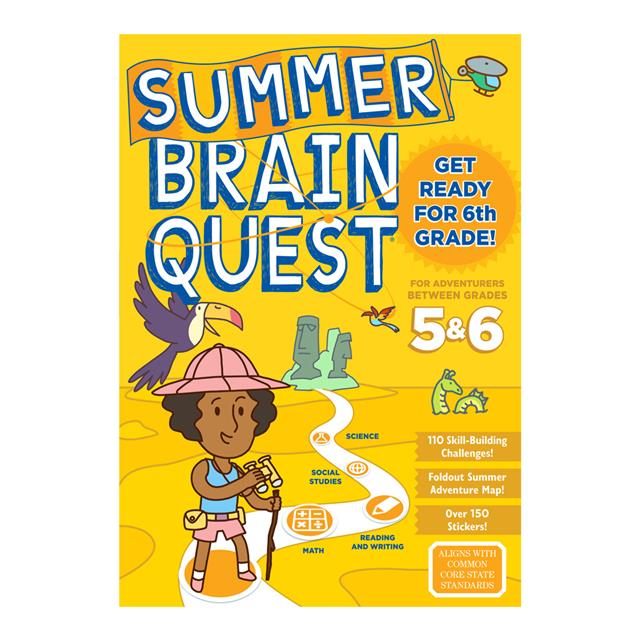 Summer Brain Quest Between Gr 5 & 6