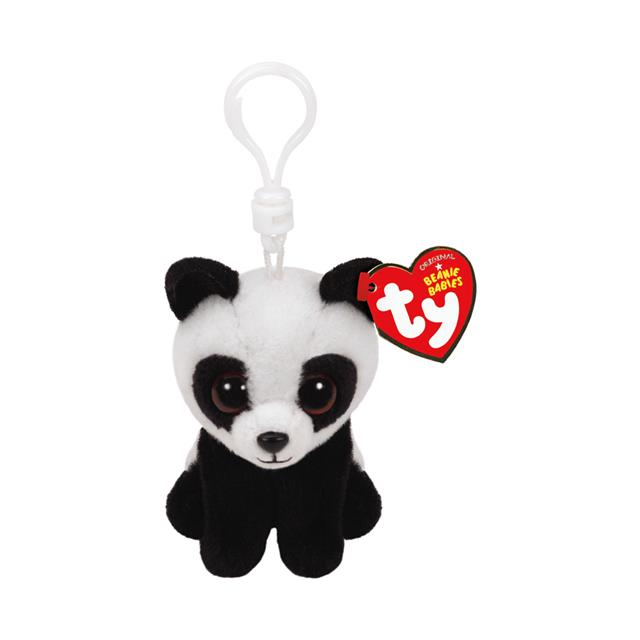 Ty Beanie Babies Clip-On Baboo the Panda 5751f383a65