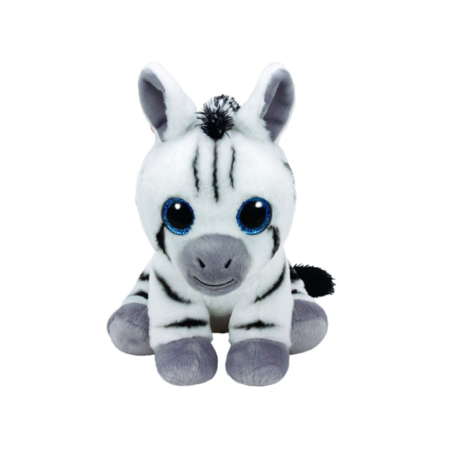Ty Beanie Babies Medium Stripes the Zebra