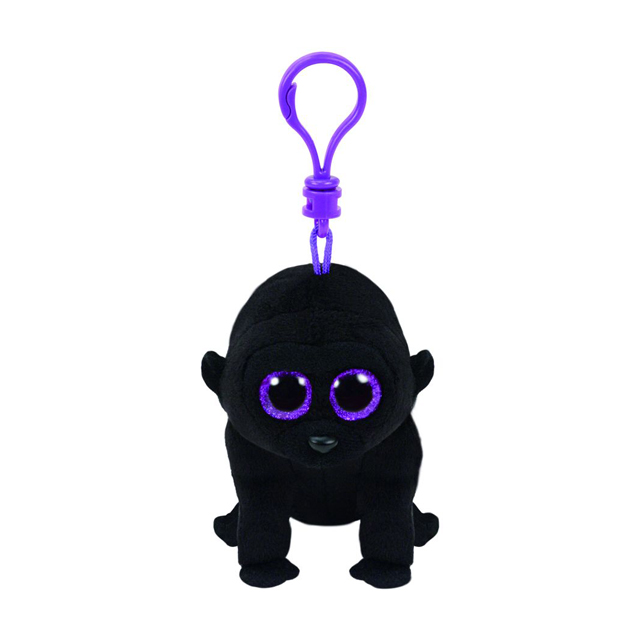 Ty Beanie Boos Clip-On George the Gorilla