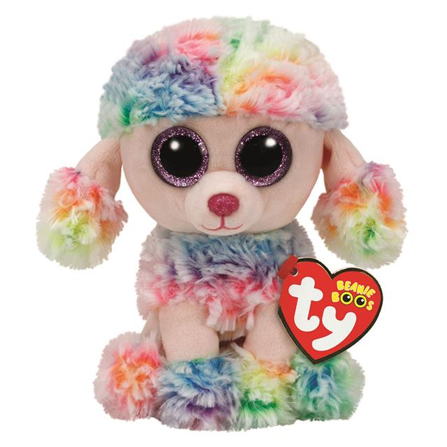 Ty Beanie Boos Rainbow the Poodle