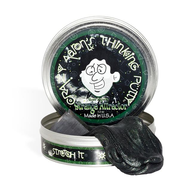 Crazy Aaron Strange Attractor Thinking Putty - Magnetic
