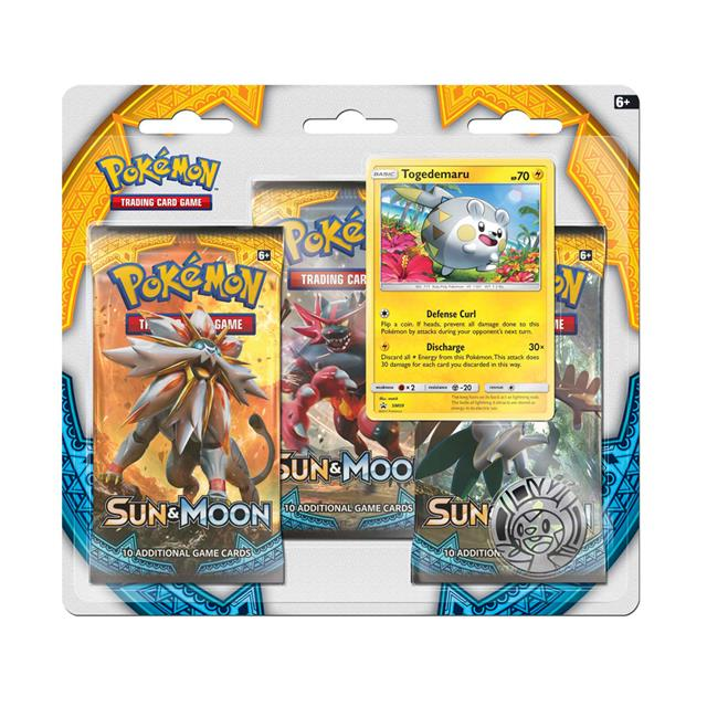 Pokemon TCG: Sun & Moon 3 Booster Blister Pack