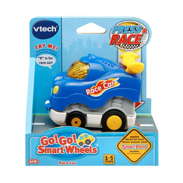 VTech Go! Go! Smart Wheels Press and Race Vehicles