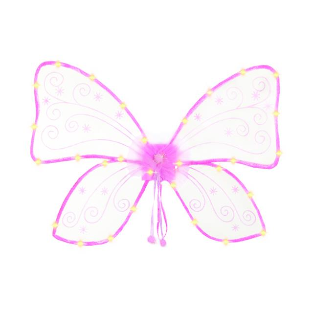 Great Pretenders Light Up Hot Pink Magical Wings
