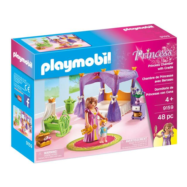 Playmobil Princess Chamber with Cradle