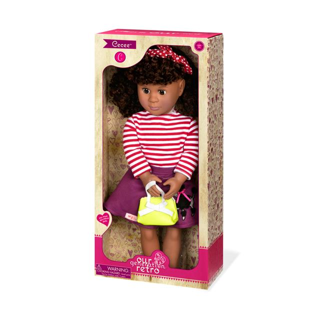 Our Generation Retro Cecee 18'' Doll