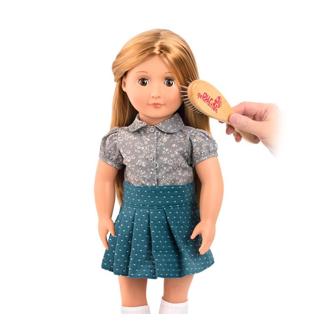 Our Generation Wooden 18'' Doll Brush