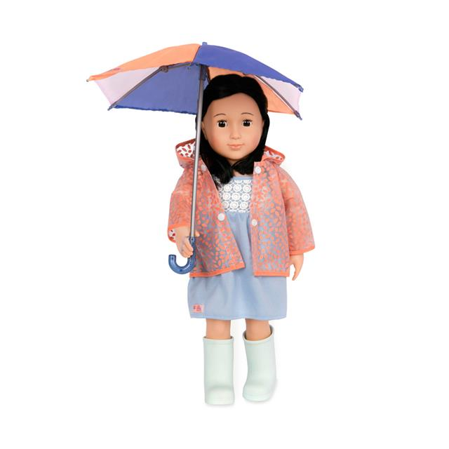 Our Generation Brighten Up a Rainy Day 18'' Deluxe Outfit