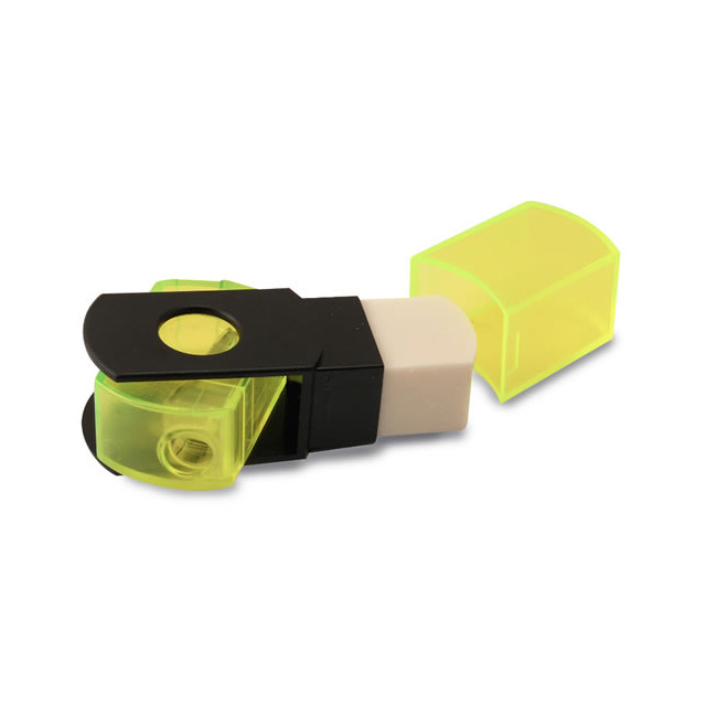 Eisen Sharpener and Eraser Combo Assorted