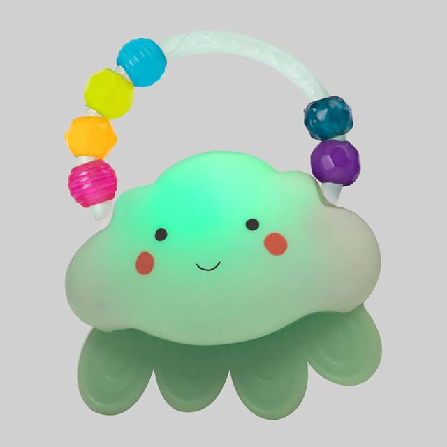 B. Rain-Glow Squeeze Light-Up Cloud Rattle