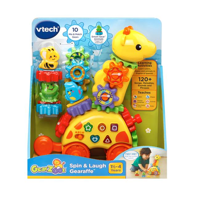 VTech Spin and Laugh Gearaffe