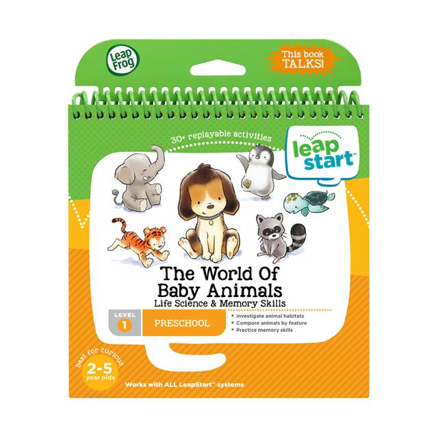 LeapFrog LeapStart Preschool The World of Baby Animals