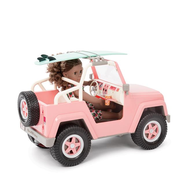 Our Generation OG Off Roader 4x4 Car with Bluetooth