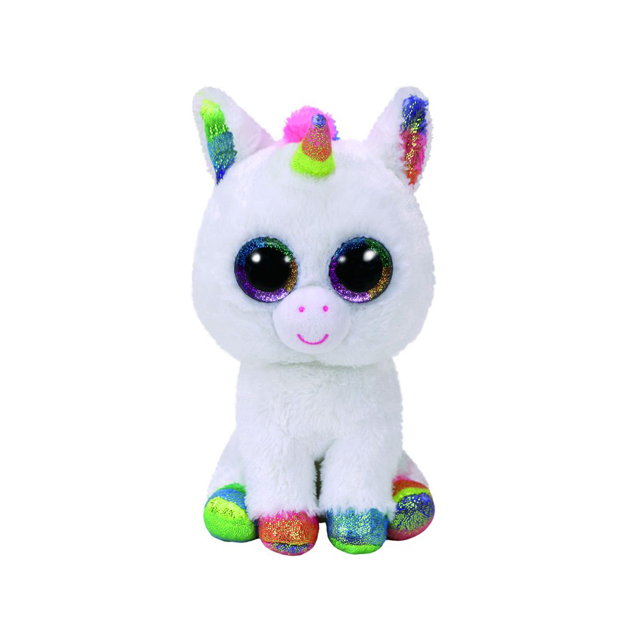 Ty Beanie Boos Medium Pixy the Unicorn