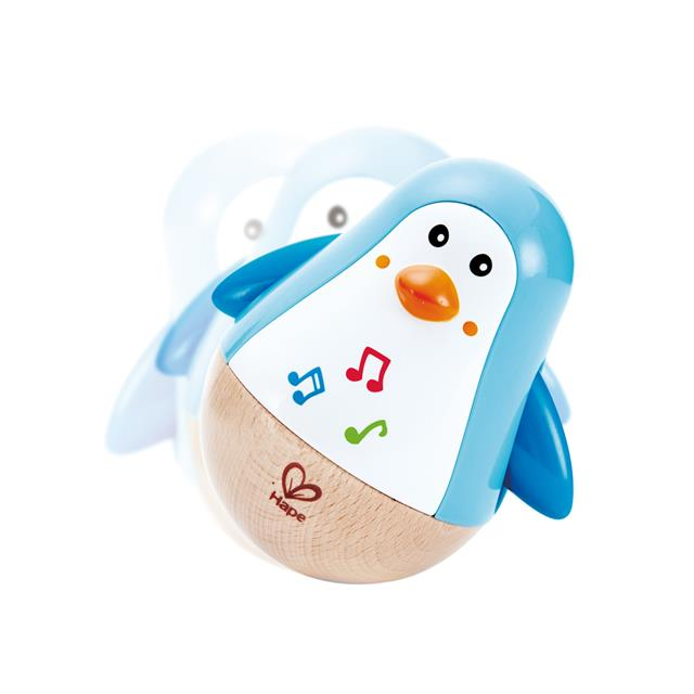 41054f29f8 Hape Penguin Musical Wobbler