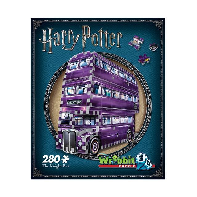 Wrebbit Harry Potter™ 3D Puzzle - The Knight Bus