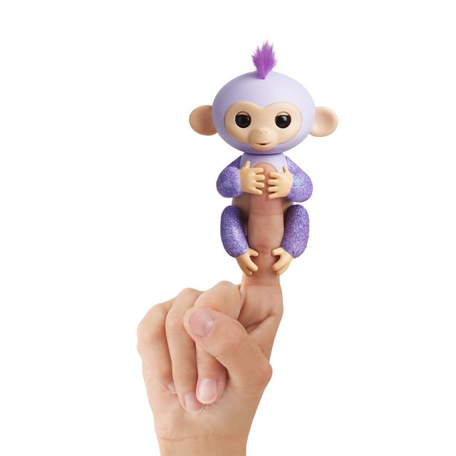 Fingerlings Glitter Baby Monkey