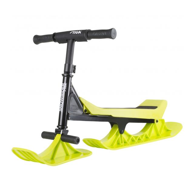 Stiga Snow Rider - Black and Lime Green