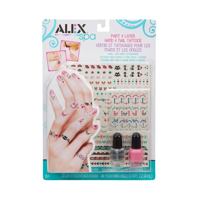 Alex Spa Paint & Layer Hand & Nail Tattoos