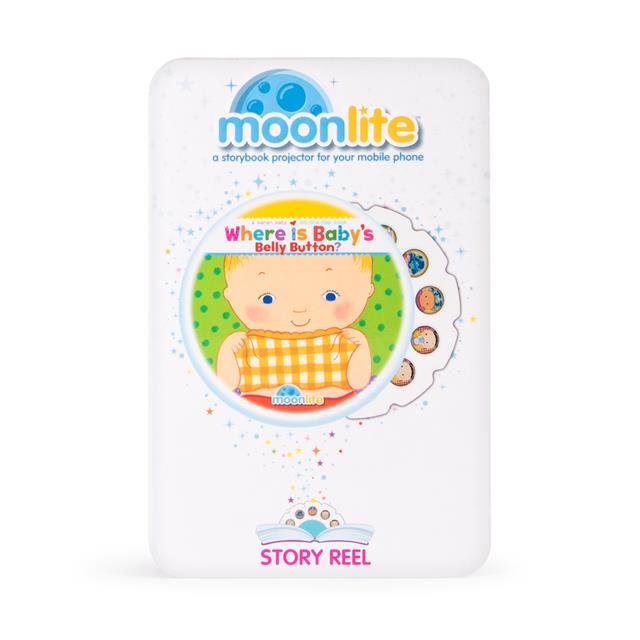 Moonlite Story Reels Where is Baby's Belly Button?